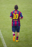Présentation de Leo Messi Photos libres de droits