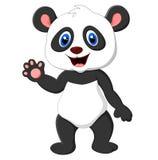 Présentation de panda de bande dessinée Photographie stock libre de droits