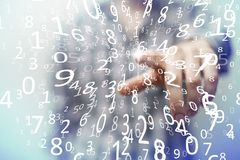 Présentation des technologies du sans fil dans les affaires et les finances Image libre de droits