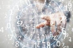 Présentation des technologies du sans fil dans les affaires et les finances Photos stock