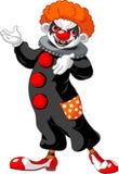 Présentation effrayante de clown de Veille de la toussaint Image libre de droits
