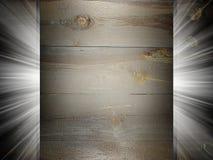 Présentation en bois de la texture 3d Photographie stock libre de droits