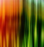 Présentation orange vive verticale d'affaires de Lignes Vertes Image stock