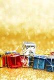 Présents colorés Photographie stock libre de droits