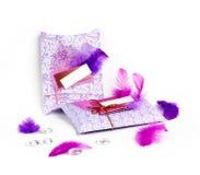 Présents décorés photo stock