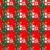 Présents d'arbres de Noël Images libres de droits