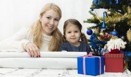 Présents de Noël et d'an neuf Image stock