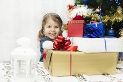 Présents de Noël et d'an neuf Images libres de droits