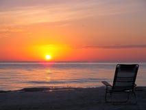 Présidence de plage Photographie stock libre de droits