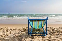 Présidence de plage sur la plage Images libres de droits