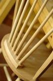 Présidence en bois Photo stock