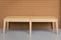 Présidence en bois moderne image stock