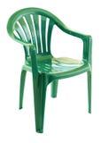 Présidence en plastique verte Images stock