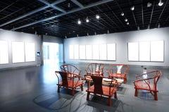 Présidence et table dans le musée photo libre de droits