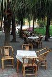 Présidence et table en bambou Images libres de droits