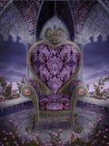 Présidence gothique de coeur illustration libre de droits