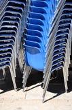 Présidences bleues Images libres de droits