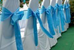 Présidences de mariage Photos stock