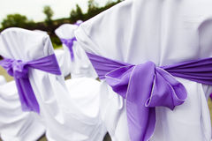 Présidences de mariage de réception Image stock
