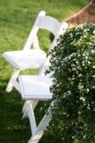 Présidences de pelouse dans l'herbe Photo stock