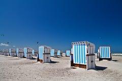 Présidences de plage Image libre de droits