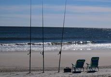 Présidences de plage Image stock