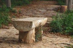 Présidences en bois Image stock