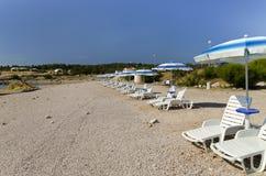 Présidences sur la plage photos libres de droits