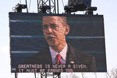 président d'obama Images stock