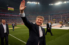 Président de FC Shakhtar Donetsk Rinat Akhmetov photographie stock