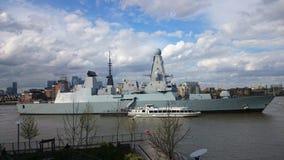 Président de HMS, marine royale Photographie stock