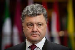 Président de l'Ukraine Petro Poroshenko Images libres de droits