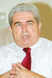Président de la Chypre Dimitris Christofias Photo stock
