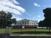 Président de la Maison Blanche de monument de nuit du Lincoln Memorial de Washington DC Photos libres de droits