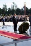 Président de la République de Moldau Mihai Ghimpu Photos libres de droits