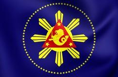 Président de Philippines standard Photographie stock libre de droits