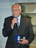 Président de République Tchèque Vaclav Klaus Images libres de droits