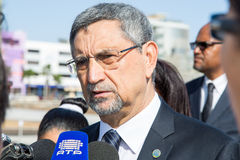 Président du Cap Vert, Jorge Carlos Almeida Fonseca Images libres de droits