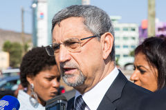 Président du Cap Vert, Jorge Carlos Almeida Fonseca Photos stock