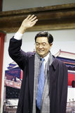 Président Hu Jintao photo stock