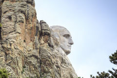 Présidents de monument national du mont Rushmore Photo stock