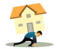 Préstamo hipotecario Imagen de archivo libre de regalías