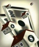 Préstamo hipotecario 2 stock de ilustración