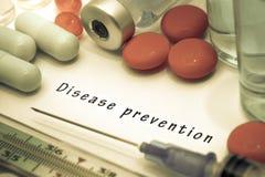 Prévention de la maladie image stock