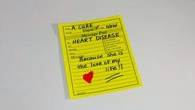 Prévention et recherche de maladie cardiaque de santé du ` s de femmes Images stock