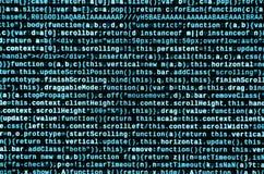 Prévision de programme informatique Dactylographie de programmation de code Normes de codage de site Web de technologie de l'info photo stock