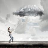 Prévisions météorologiques Images libres de droits