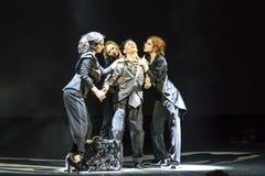 Prévoyance de ballet à l'étape de l'opéra national de l'Ukraine Images stock