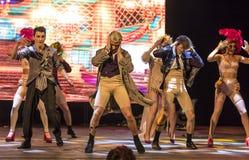 Prévoyance de ballet à l'étape de l'opéra national de l'Ukraine Photographie stock libre de droits