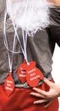 Prêmio da corrida de Santa Fotografia de Stock Royalty Free
